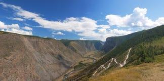 Montagne di Altai. Paesaggio di estate Immagine Stock Libera da Diritti