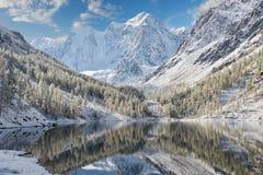 Montagne di Altai, Russia, Siberia Fotografie Stock Libere da Diritti