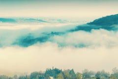 Montagne di Apennines, Italia Fotografia Stock