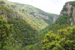 Montagne di Arcadia Fotografie Stock Libere da Diritti