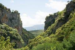 Montagne di Arcadia Fotografie Stock