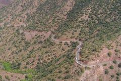 Montagne di atlante nel Marocco, Nord Africa Fotografia Stock