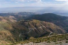 Montagne di atlante nel Marocco, Nord Africa Immagine Stock