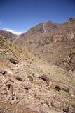 Montagne di atlante paesaggio, Marocco Fotografia Stock