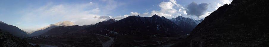 Montagne di Balkaria Fotografia Stock