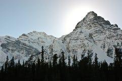 Montagne di Banff Fotografia Stock