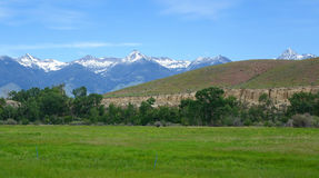 Montagne di Beaverhead - Idaho Fotografia Stock Libera da Diritti