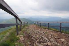 Montagne di Bieszczady Fotografia Stock Libera da Diritti