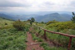 Montagne di Bieszczady Immagine Stock