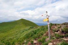Montagne di Bieszczady Immagine Stock Libera da Diritti