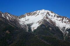 Montagne di Boulder dalla sommità della galena Fotografie Stock Libere da Diritti