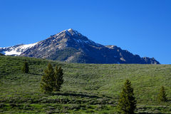 Montagne di Boulder - Idaho Fotografia Stock
