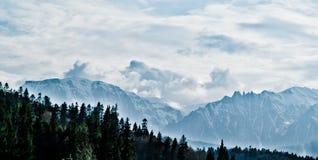Montagne di Bucegi Immagine Stock