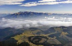 Montagne di Bucegi Immagini Stock