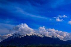 Montagne di Bucegi Fotografie Stock Libere da Diritti