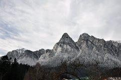 Montagne di Bucegi Immagini Stock Libere da Diritti