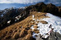 Montagne di Bucegi - della Romania Fotografia Stock