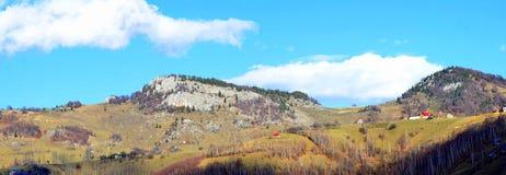 Montagne di Carpathians Immagini Stock Libere da Diritti