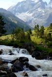 Montagne di Caucaso Immagini Stock Libere da Diritti
