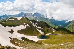 Montagne di Caucaso immagine stock libera da diritti