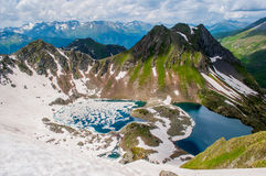 Montagne di Caucaso fotografia stock libera da diritti
