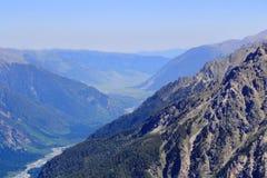 Montagne di Caucaso Dombai Immagini Stock