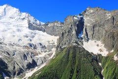 Montagne di Caucaso Dombai Immagine Stock Libera da Diritti