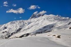 Montagne di Caucaso, Svaneti Immagini Stock