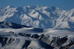 Montagne di cielo Fotografia Stock