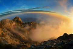 Montagne di Cozia Fotografie Stock