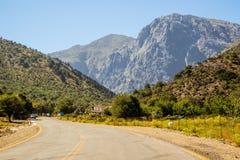 Montagne di Crete Fotografie Stock