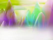 Montagne di cristallo colorate royalty illustrazione gratis