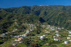Montagne di Cumbre, La Palma, isole Canarie Immagine Stock