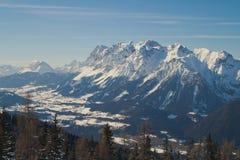 Montagne di Dachstein Immagine Stock Libera da Diritti