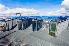 Montagne di Dachstein in Austria Immagini Stock Libere da Diritti