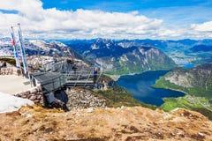 Montagne di Dachstein in Austria Immagine Stock