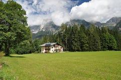 Montagne di Dachstein, Austria Fotografia Stock