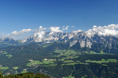 Montagne di Dachstein, Austria Fotografia Stock Libera da Diritti