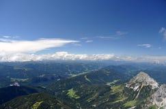 Montagne di Dachstein, Austria Immagini Stock Libere da Diritti