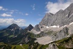 Montagne di Dachstein, Austria Immagine Stock