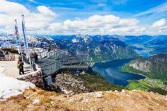 Montagne di Dachstein in Austria Fotografie Stock Libere da Diritti