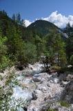 Montagne di Dachstein, Silberkarklamm, Austria Fotografia Stock Libera da Diritti