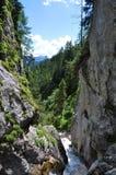 Montagne di Dachstein, Silberkarklamm, Austria Immagini Stock Libere da Diritti