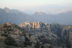 Montagne di Danah immagini stock