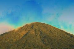 Montagne di Dempo Fotografie Stock Libere da Diritti