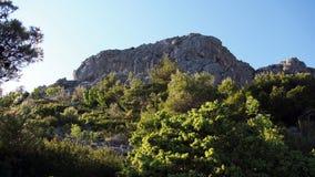 Montagne di Dinaric (alpi) Fotografia Stock Libera da Diritti