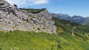 Montagne di Dinaric (alpi) Immagini Stock Libere da Diritti