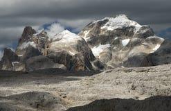 Montagne di Dolomiti Fotografie Stock
