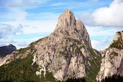 Montagne di Dolomiti, Italia Immagini Stock