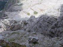 Montagne di Dolomity Immagine Stock